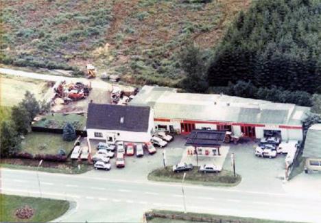 Tankstelle von Josef Rupp um 1962